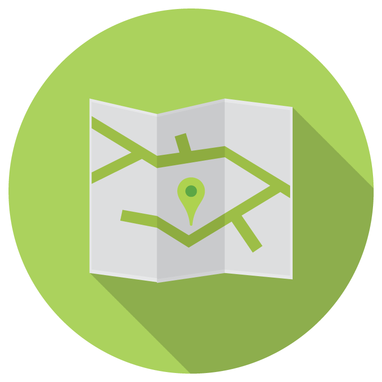 touch point massage map icon