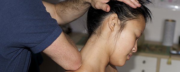 touch point massage nape massage