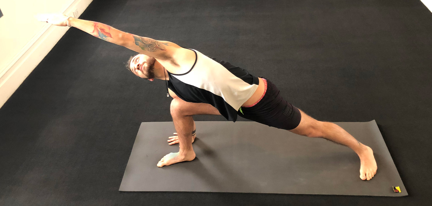 touch point massage yoga exercise